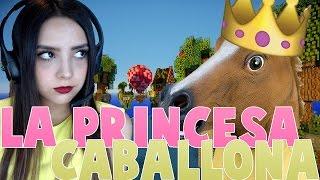getlinkyoutube.com-LA PRINCESA CABALLONA | SKYWARS CON DAHORSE