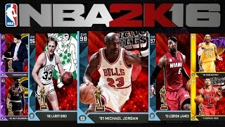 getlinkyoutube.com-NBA2K16 MyTeam: Most Valuable Player Cards! Jordan! Kobe! LBJ!