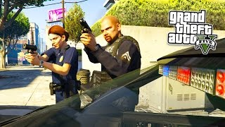 getlinkyoutube.com-GTA 5 PC Mods - PLAY AS A COP MOD! GTA 5 SAPDFR/LSPDFR Police Mod Gameplay! (GTA 5 Mods Gameplay)