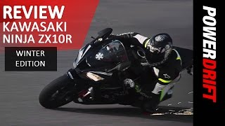 getlinkyoutube.com-2016 Kawasaki Ninja ZX10R Winter Edition : Review : PowerDrift