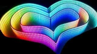 tHE inifinite ART Beat! - RGB LED infinity mirror by Workinonit! powered by FastLED