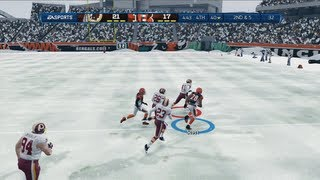 getlinkyoutube.com-Just Call Me the Comeback Kid | Snow Game - Madden 13 Online Gameplay (Bengals vs Redskins)