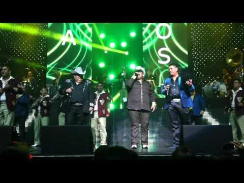 El Coyote, Chuy Lizarraga y El Tigrillo Palma- Cierre del Concierto en el NOKIA