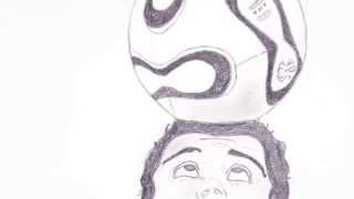 getlinkyoutube.com-Cristiano Ronaldo Drawing