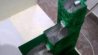 getlinkyoutube.com-Fuente con bomba de agua usando material de reciclaje