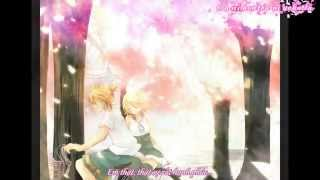 getlinkyoutube.com-[Mirai Sub] Sakura Anata ni Deaete Yokatta - Kagamine Rin, Kagamine Len (Vietsub)
