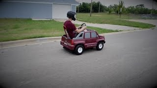 40 MPH Gas Power Wheels