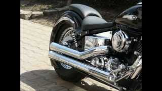 getlinkyoutube.com-Yamaha V Star 650 Drag Star Custom POLAND by Power Choppers