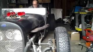 getlinkyoutube.com-1929 Ford 327 startup 2