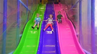 getlinkyoutube.com-Fun Indoor Playground for Kids and Family at Bill & Bull's Lekland
