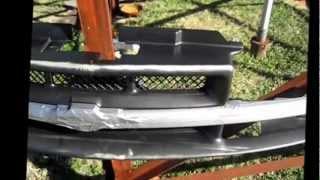 getlinkyoutube.com-Painting plastic grille.