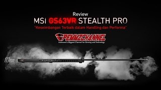 getlinkyoutube.com-Gaming Ultrabook All-in-One, Compact, Enteng, Kenceng (Review MSI GS63VR Stealth Pro)