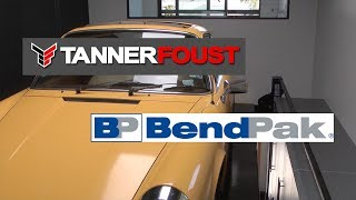 getlinkyoutube.com-Tanner Foust's awesome garage and super-tall BendPak lift.