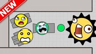 getlinkyoutube.com-DIEP.IO   NEW EPIC TANK & CRAZY MAZE GAMEPLAY! (slither.io / splix.io / diep.io type game))