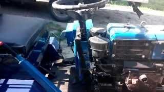 getlinkyoutube.com-Переоборудование из мотоблока ЗУБР в мини-трактор