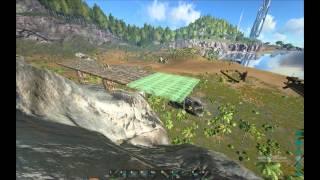 getlinkyoutube.com-Ark Survival - How to build structures on pillars