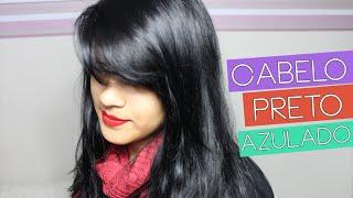 getlinkyoutube.com-Mudei denovo: Cabelo Preto Azulado com Alfaparf - Blog Beleza Rosa