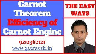 carnot theorem efficiency of carnot engine
