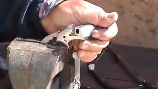 getlinkyoutube.com-Pistola hecha en casa replica Colt handmade pistol