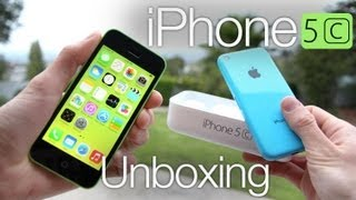 New iPhone 5C Unboxing: 5c Comparison iPhone Review & Giveaway
