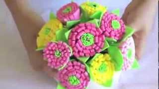 getlinkyoutube.com-Flor de EVA facil