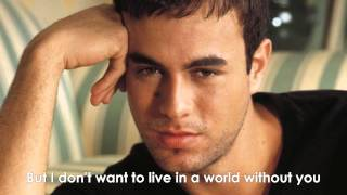 Enrique Iglesias-Heart Attack HQ LYRICS