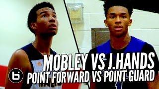 getlinkyoutube.com-Jaylen Hands vs Isaiah Mobley: Point Guard vs Point Forward Highlights at The Battlezone!