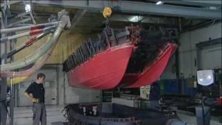 getlinkyoutube.com-Pioner  Boats polyethynene   rotational mouldng