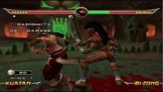 MK Armageddon: Sheeva on Max playthrough