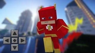 getlinkyoutube.com-Minecraft PE 0.14.0: VIRE O HOMEM MAIS RÁPIDO DO MUNDO | THE FLASH MOD
