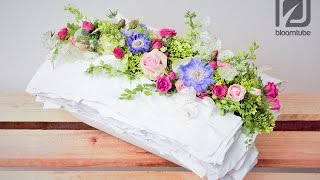 How to make a floral table arrangement tutorial