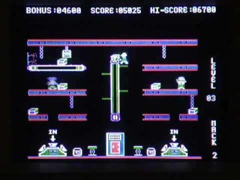 Hard Hat Mack Game Review (Apple II)