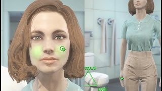 getlinkyoutube.com-Fallout 4 - Female character creation