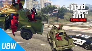 getlinkyoutube.com-GTA 5 빨간양말파:외국인과의 전쟁 - GTA 5 Funny Moments : A massive war