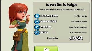getlinkyoutube.com-Layout Centro de Vila 3 Troféu | Clash of Clans Layout CV 3 Guerra | TH3 WAR