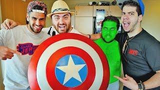 getlinkyoutube.com-Hike In Real Life - CAPTAIN AMERICA SHIELD Unboxing!! Avengers Prop Replica - Hike I.R.L.