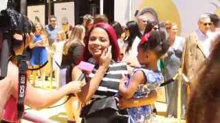 getlinkyoutube.com-Christina Milian at Dispicable Me Spotted with Daughter on The Red Carpet