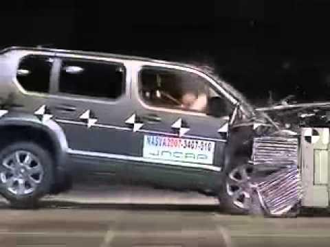 Vehicule Crash Test 2007 - Present Honda Crossroad Offset Test) JNCA-Extreme