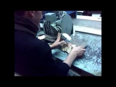 Manejo y funcionamiento de una máquina de biselar.