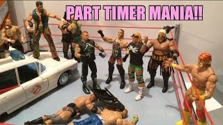 getlinkyoutube.com-GTS WRESTLING: Part Timer Mania!! WWE figure matches animation! Mattel Elite series 27