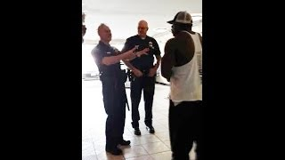 getlinkyoutube.com-POLICE CALLED ON KALI MUSCLE {GRUNTING IN GYM}
