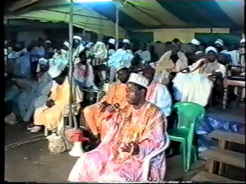Muqaddam Masoud:  Sheikh Yayal Amin  at Sekondi for Maulid with chife Imam in 1997.