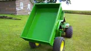 getlinkyoutube.com-Dirt Built Heavy Duty Dump Cart