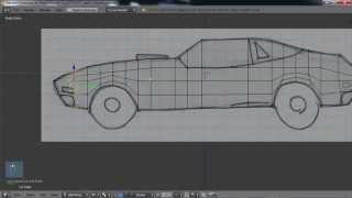 getlinkyoutube.com-Blender For Noobs - Design Your Own Car Part 4 - Modeling