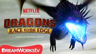 getlinkyoutube.com-An Electrifying Battle | DRAGONS: RACE TO THE EDGE