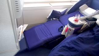 """getlinkyoutube.com-LH711 NRT-FRA Lufthansa A380 """"Berlin"""" Business Class Tokyo-Frankfurt 20,08,2012"""