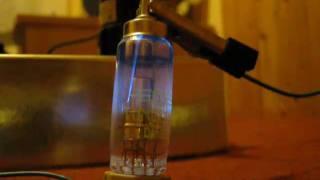 Vacuum tube DY86 emits X-ray