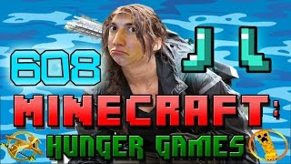 Minecraft: Hunger Games w/Mitch! Game 608 - DIAMOND BOOTS!