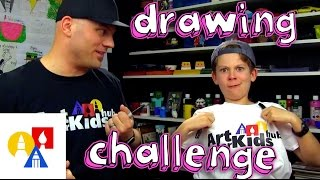 getlinkyoutube.com-Both Handed Drawing Challenge + SYA!
