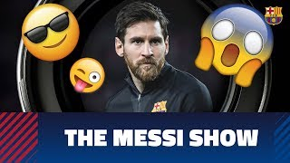 Messi dazzles in training